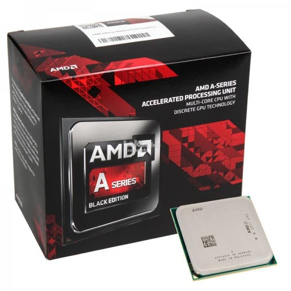 AMD A10 7860K BLACK Edition Quad Core CPU with Quiet Cooler