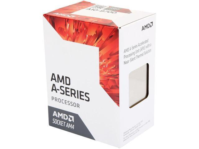 AMD A10 9700 - Base Clock 3.5GHz /Max Boost Clock 3.8GHz