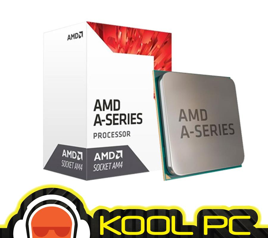 * AMD A8 9600 3.4GHZ SOCKET AM4 PROCESSOR (AD9600AGABBOX)