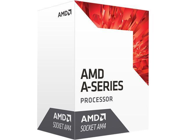 AMD A8 9600 - Base Clock 3.1GHz/ Max Boost Clock 3.4GHz