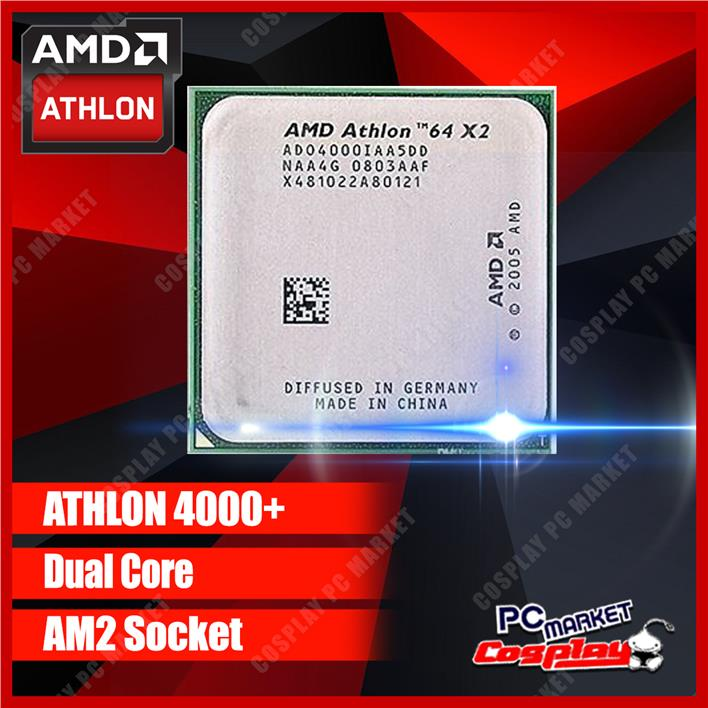 AMD Athlon 64X2 4000+ 2.1Ghz Socket AM2 Processor (Refurbished)