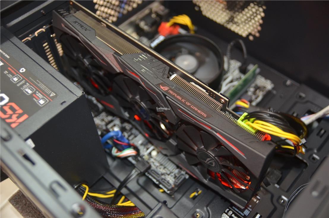 AMD RYZEN 3 2200G QUAD CORE / ASUS ROG GTX 1060 6GB (PC) GAMING