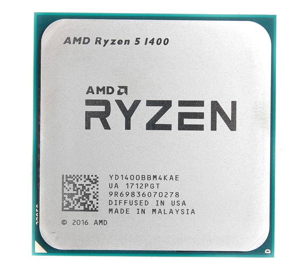 AMD Ryzen 5 1400 Processor Only