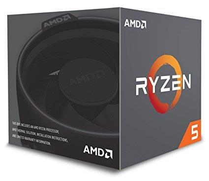 AMD Ryzen 5 2600; with Wraith Stealth Cooler