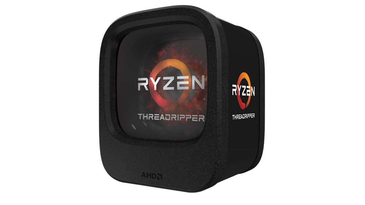 AMD Ryzen Threadripper 1900X - Base Clock 3.8GHz/Max Turbo 4GHz