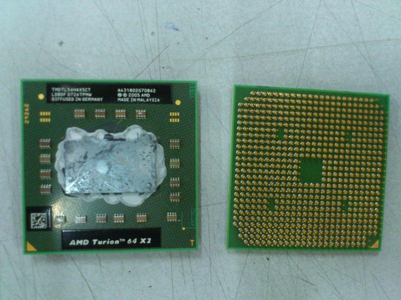 AMD Turion 64 X2 TL-56 1.8Ghz Processor For Notebook 161013