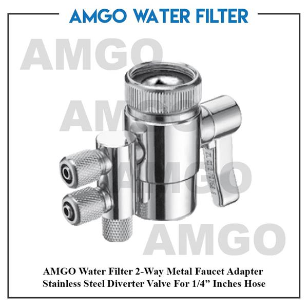 AMGO 2Way Faucet Adapter,Water Filter,Water Dispenser