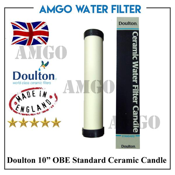 AMGO Doulton 10' Standard OBE Ceramic Water Filter Candle
