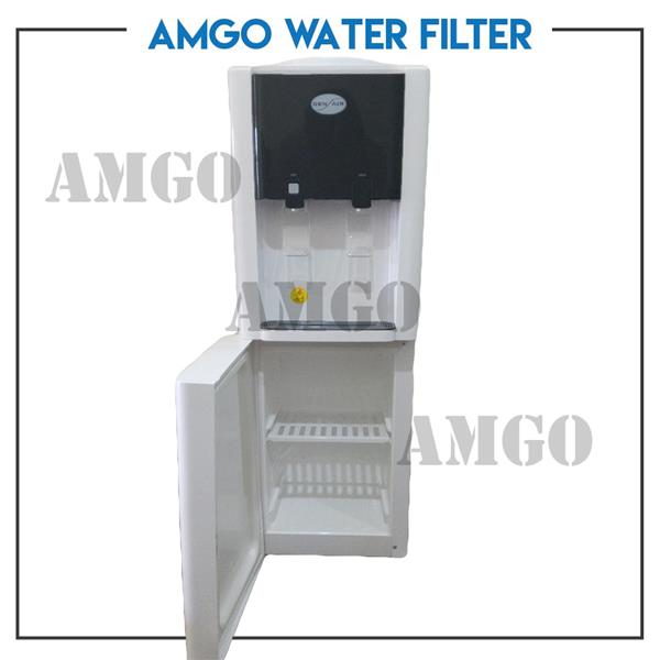 AMGO Gen Air 502 Hot Cold Floor Standing Water Dispenser - Bottle Type