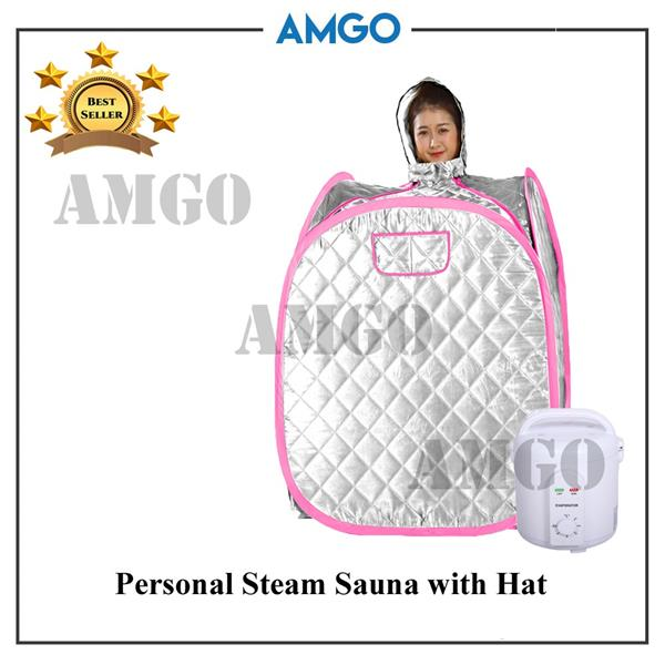 AMGO Portable Steam Sauna 9005 With Hat