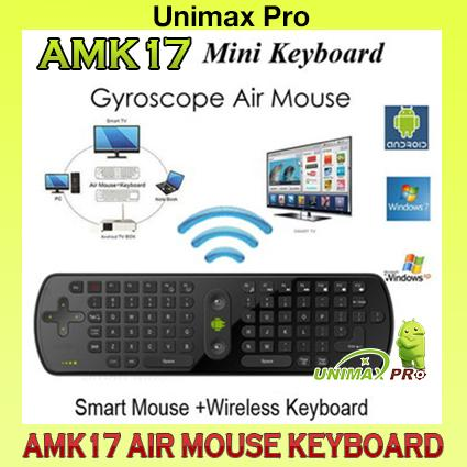 AMK17 - Air Mouse Keyboard CS918 M8S ZIDOO HIMEDIA MI MIBOX RC11 TVBOX