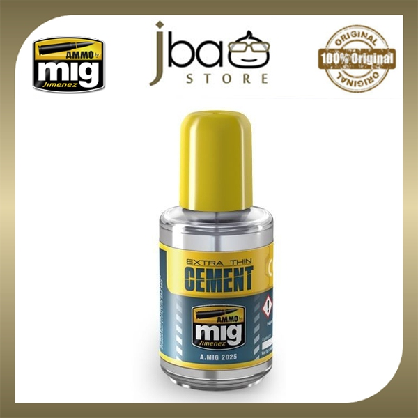AMMO Mig Extra Thin Cement 30ml quick glue for polystyrene plastic