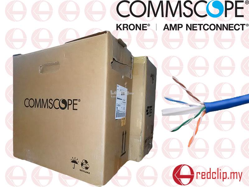 AMP COMMSCOPE CAT6 UTP NETWORK CABLE (end 12/4/2018 2:15 PM)