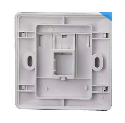 AMP RJ11 RJ45 Network FacePlate Wall Panel Single Port Kit