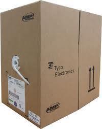 AMP / TE Cat5E Cat 5E UTP Network LAN Cable 305 Meter Per Box  sc 1 st  Lelong.my & AMP / TE Cat5E Cat 5E UTP Network L (end 1/27/2015 10:55 AM) Aboutintivar.Com