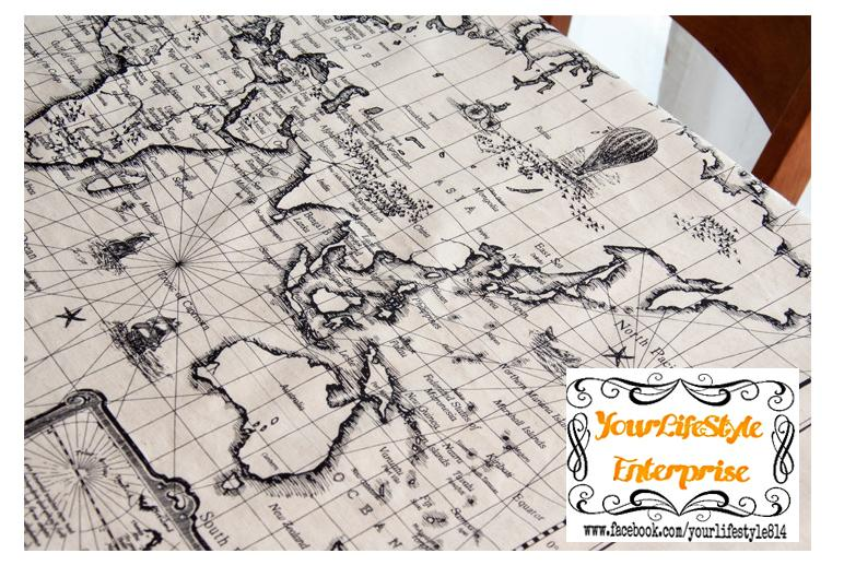 Ancient world map linen cloth fabric end 2142016 515 pm ancient world map linen cloth fabric textile diy gumiabroncs Gallery