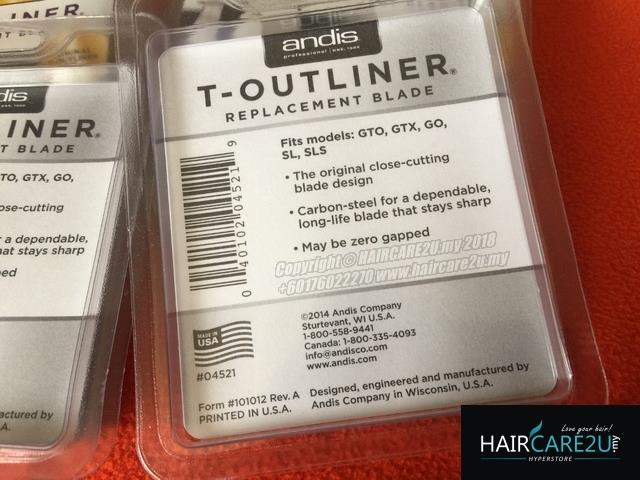 Andis T-Outliner Trimmer Replacement Blade #04521