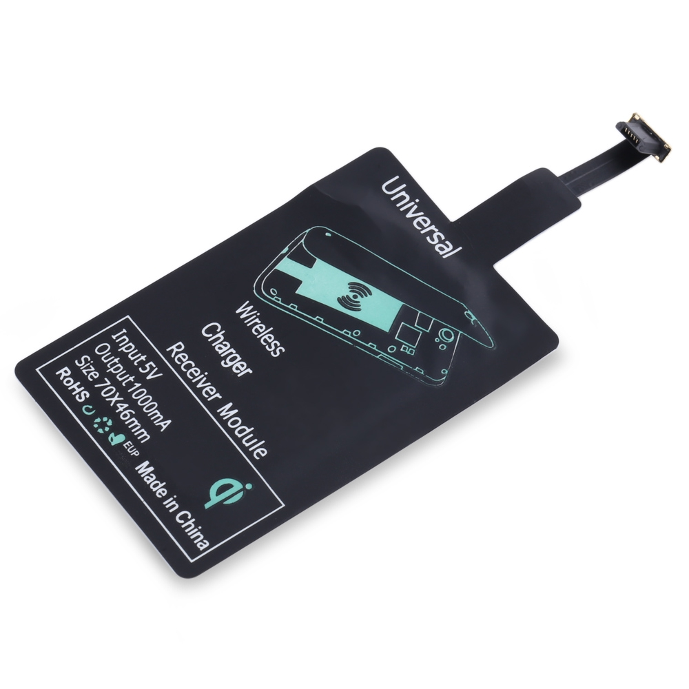 ANDROID DEVICES WIRELESS CHARGING ADAPTER MODULE PAD (BLACK)