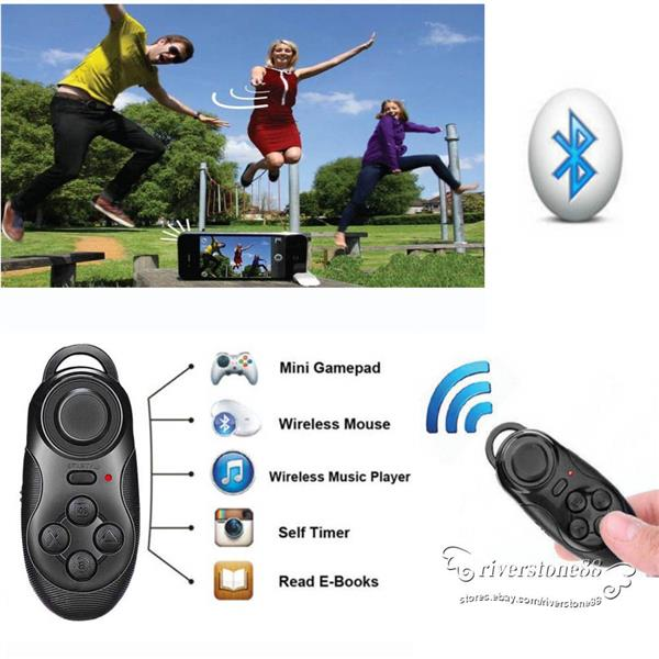 dd0deb0b035 Android/IOS/PC Bluetooth Gamepad Selfie & Shutter Remote Mouse. ‹ ›