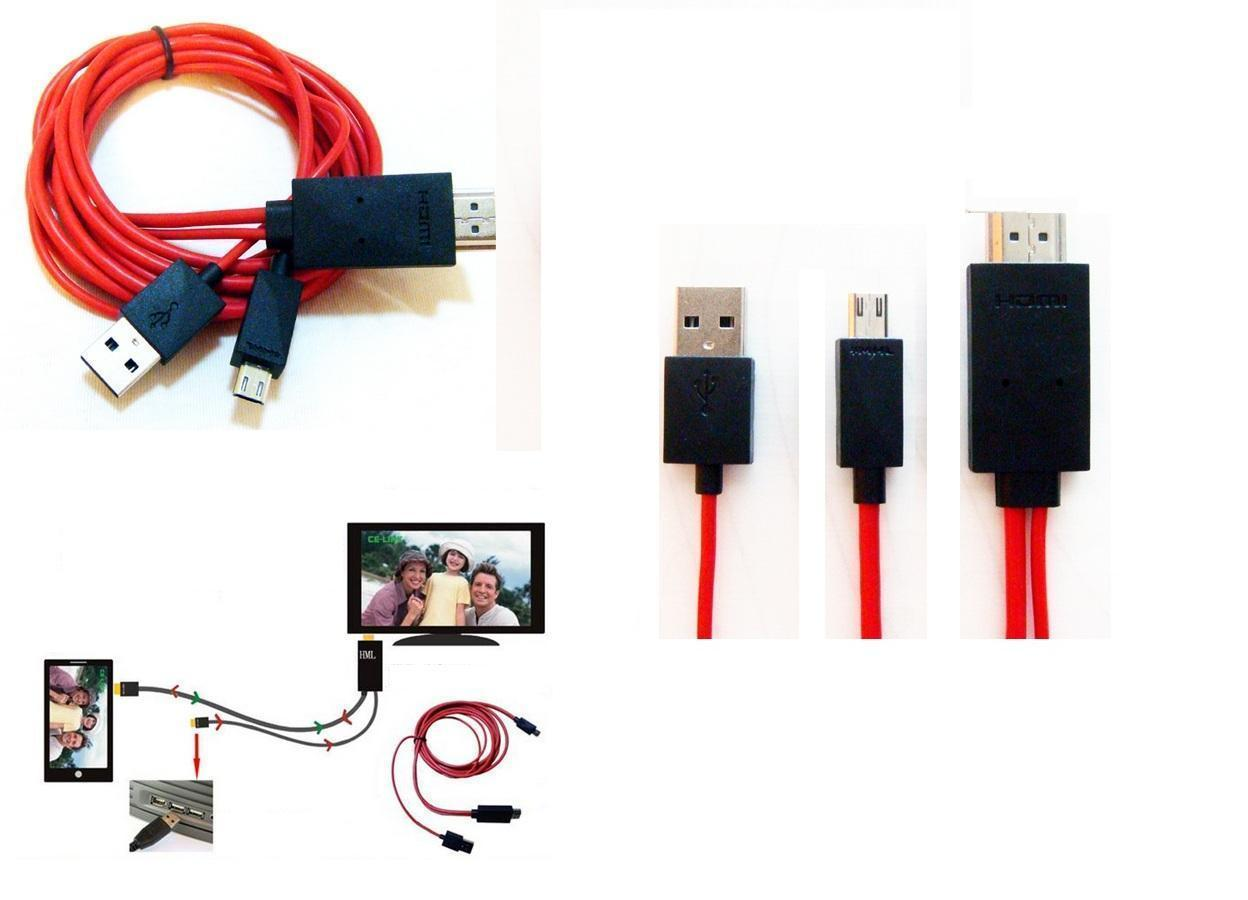 Usb Cable For Android Phone To Tv: android Phone to HD TV 2M micro usb (end 5/28/2020 5:12 AM)rh:lelong.com.my,Design