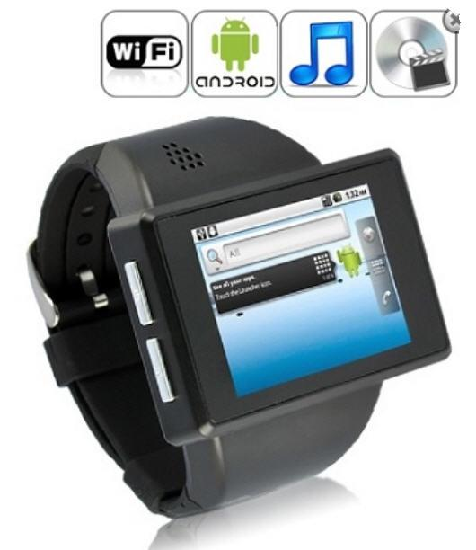 Android Smartphone Watch (2' Capacitive/Camera/Wifi) (WP-Z1).
