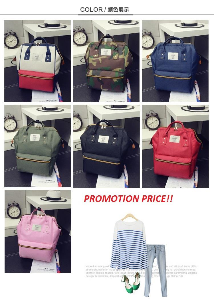 Anello Women Backpack Handbag Travel Sling Bag Japan Malaysia Bags JP. ‹ › 3dc4b6f9a5