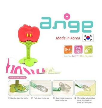 Ange Fruit Teether (Apple) with Clip