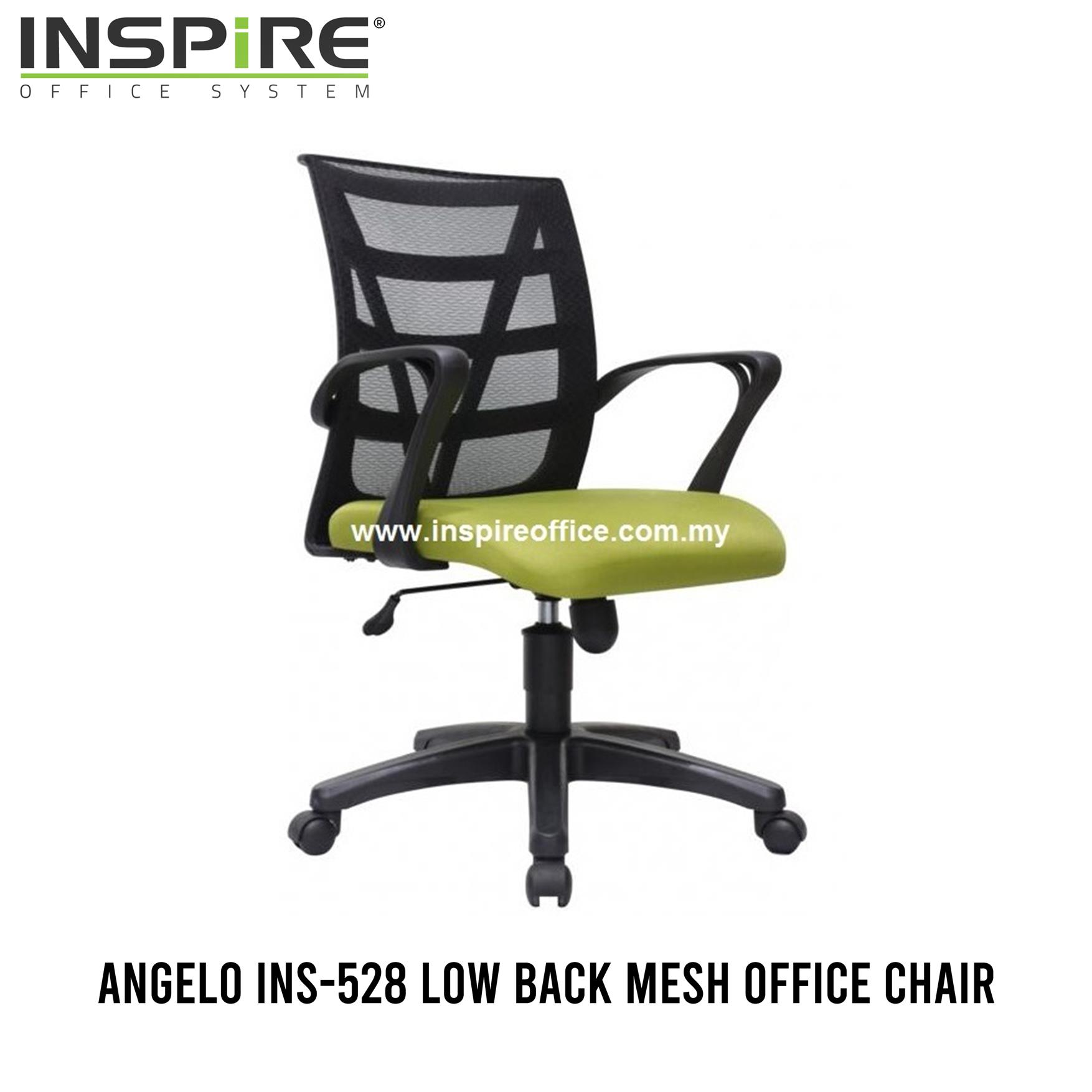 ANGELO INS-528 Low Back Mesh Office Chair