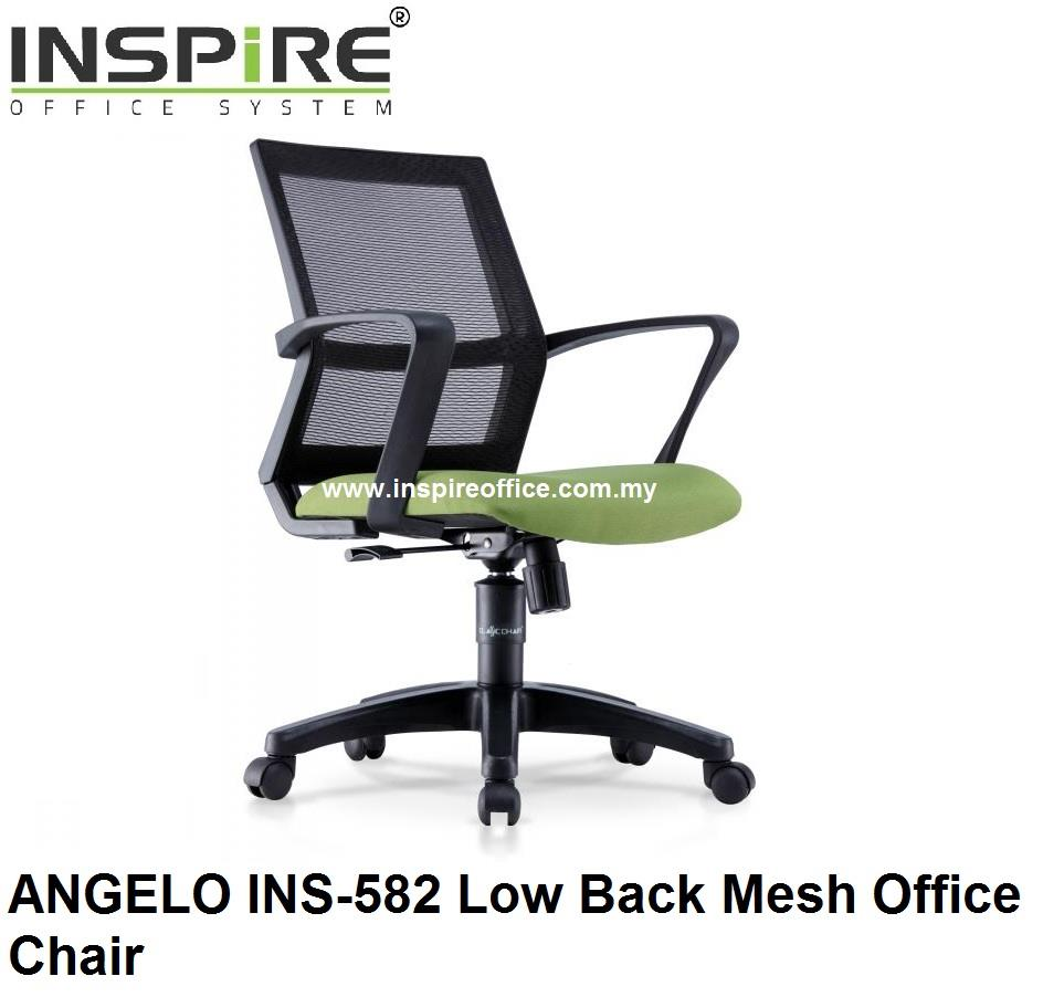 ANGELO INS-582 Low Back Mesh Office Chair