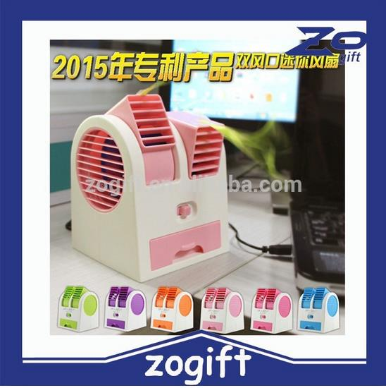 Angle Adjustable Strong Wing Mini fan/Air Cond - USB
