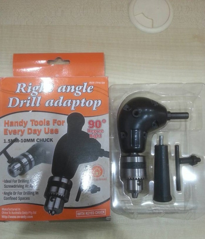 RIGHT ANGLE DRILL ADAPTOR