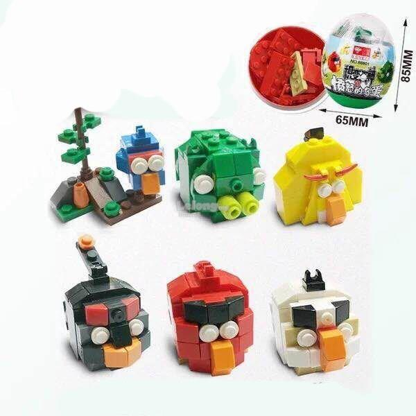 Angry Bird Miniature ToyEgg (12pcs)