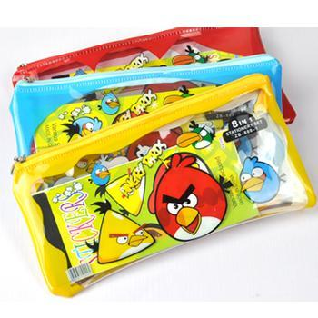 Angry Bird~New Type Student Stationery Set 13098