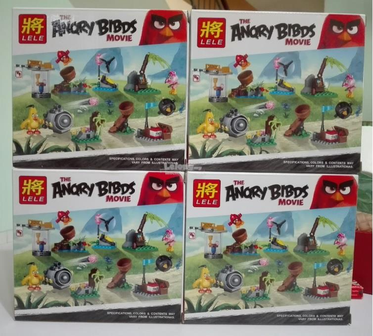 THE ANGRY BIRDS ACTION MINI FIGURE ( 4 IN 1 )