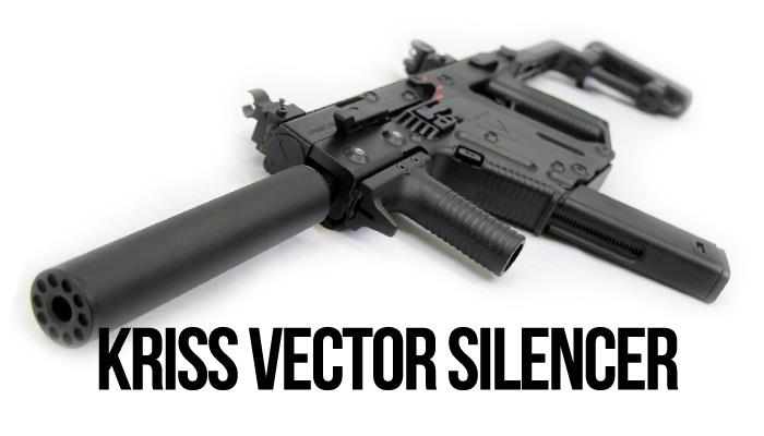 ANGRY GUN POWER UP SILENCER FOR KWA KRISS VECTOR