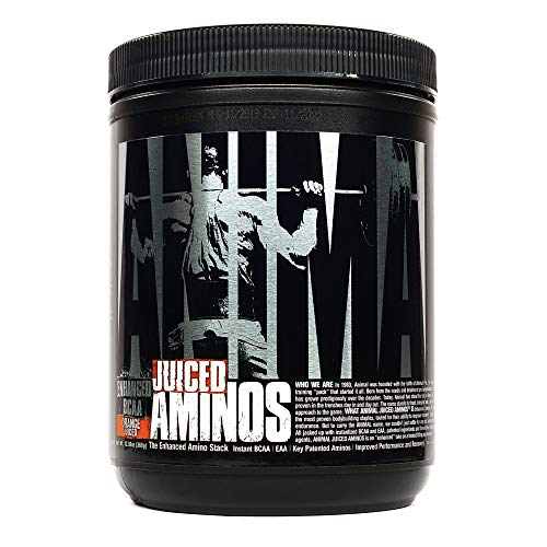 Animal Juiced Aminos - 6g BCAA/EAA Matrix plus 4g Amino Acid Blend for Recover