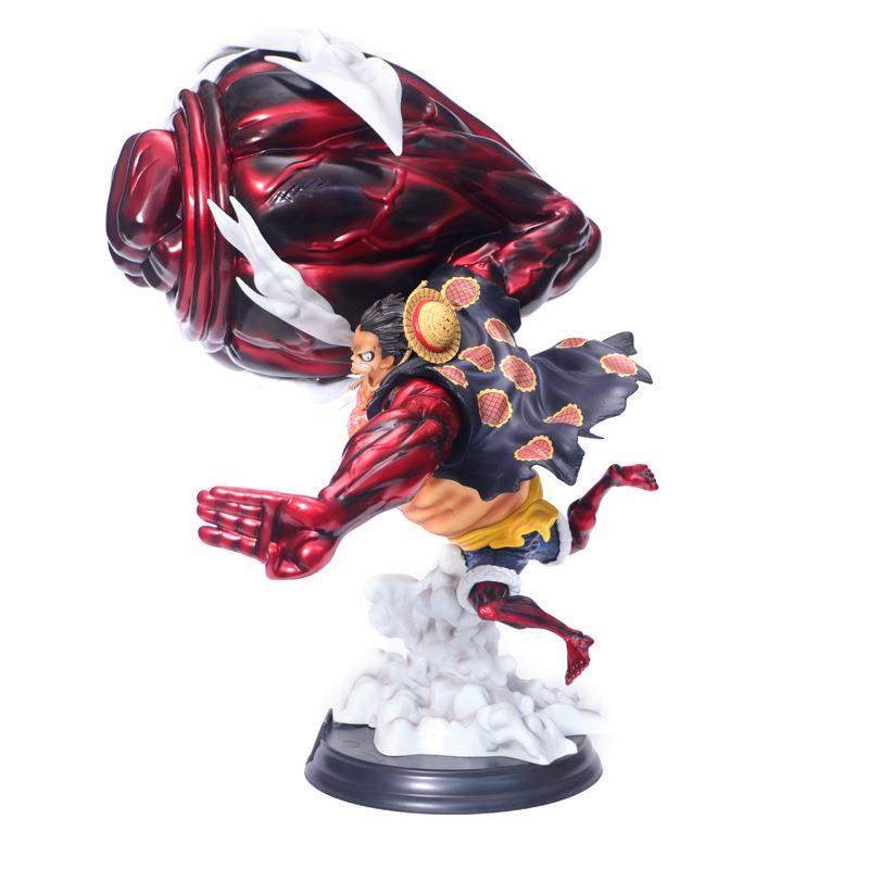 Anime One Piece Gear Fourth Pop Xxl Monkey D Luffy Gear 4 Figures 39cm