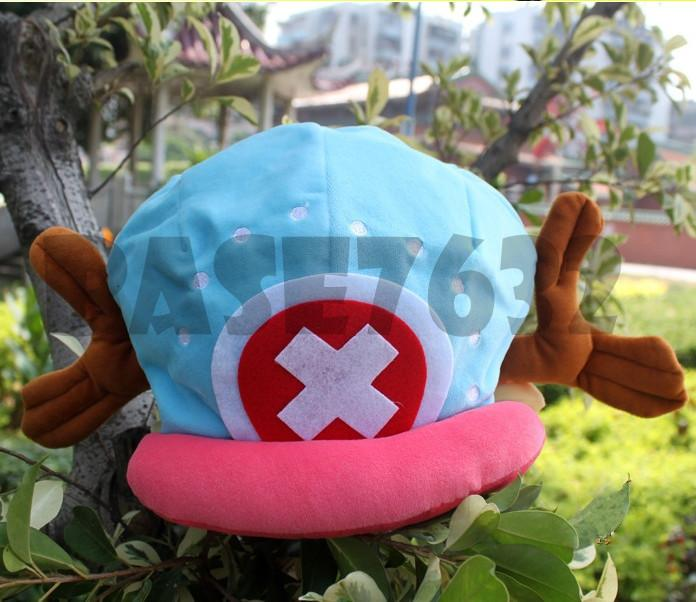 Anime  One Piece Tony Chopper Plush Cotton Hat Cap Cute Gift