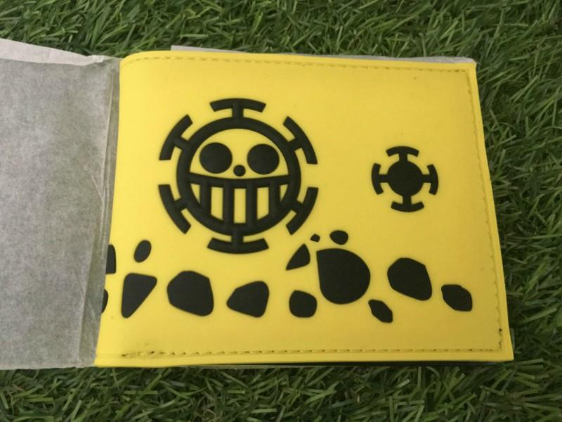 Anime ONE PIECE Trafalgar Law Plastic Leather wallet