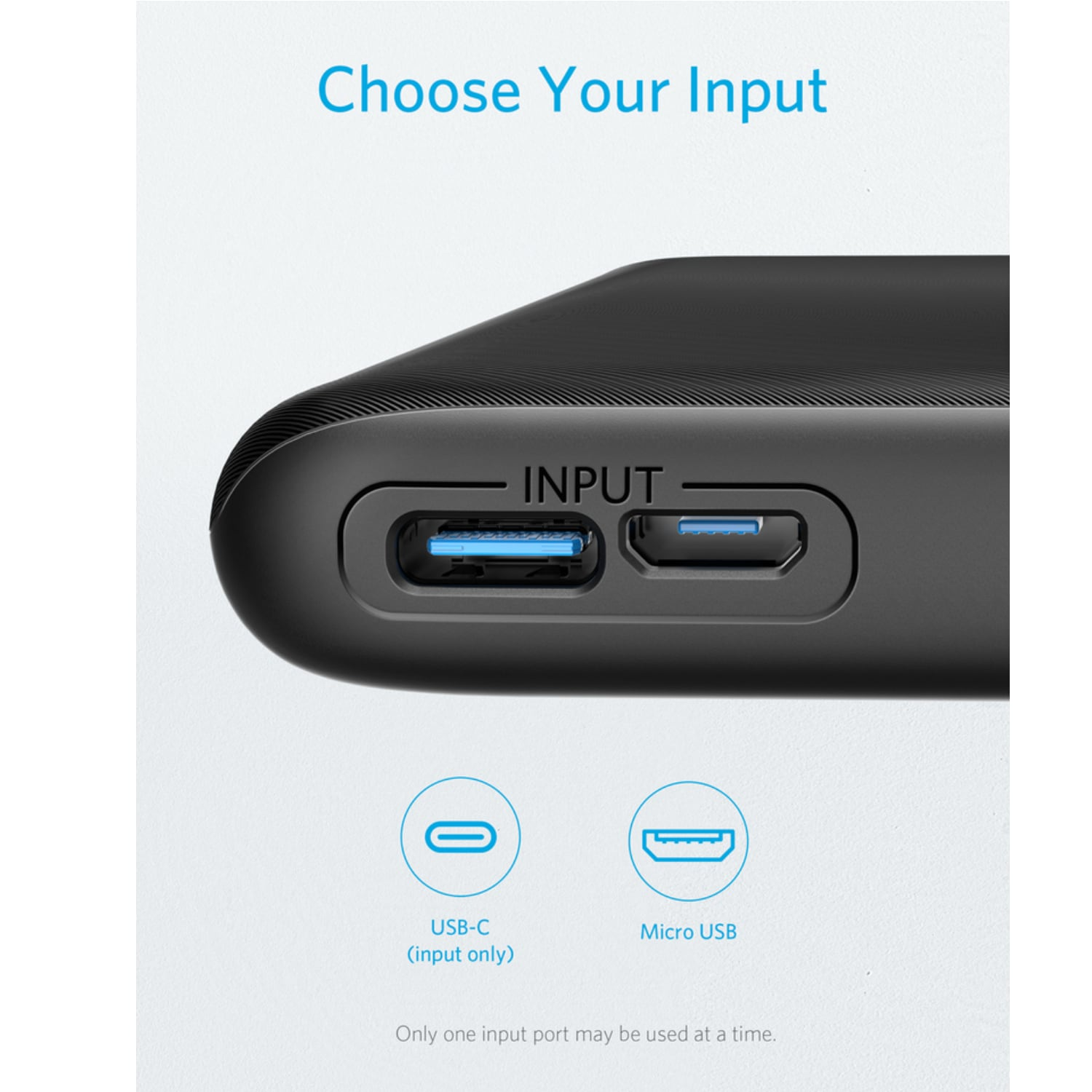 Anker A1232 PowerCore Lite 10000mAh USB C Power Bank