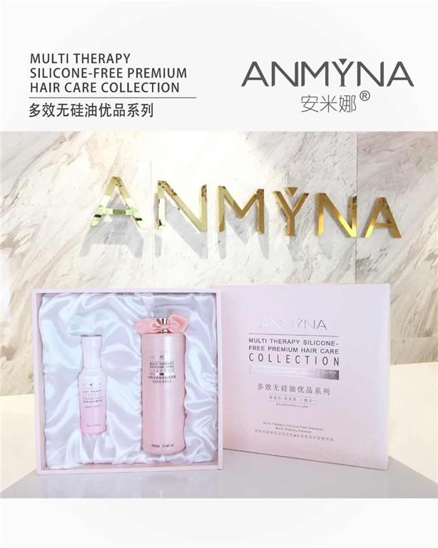 ANMYNA Multi Therapy Silicone-Free Shampoo + Hair Essence 安&#31..