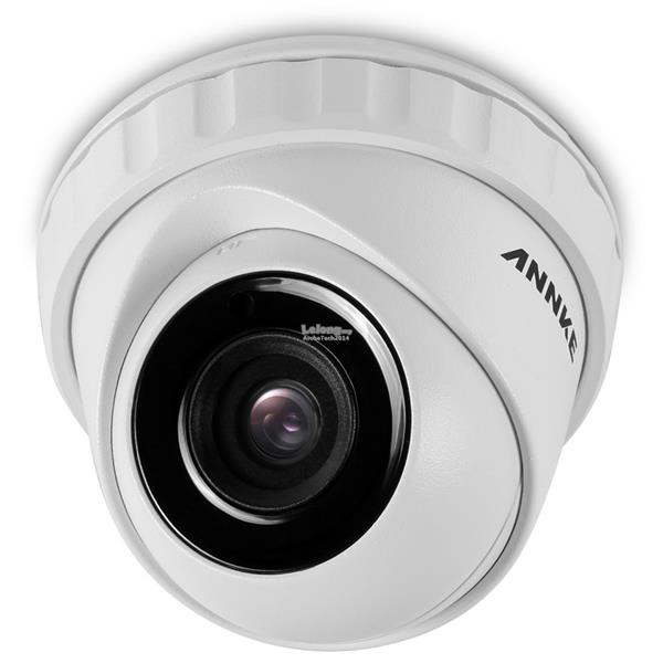 ANNKE 3MP 1536P 4 Dome CMOS Sensor IP66 Dust and Waterproof Camera