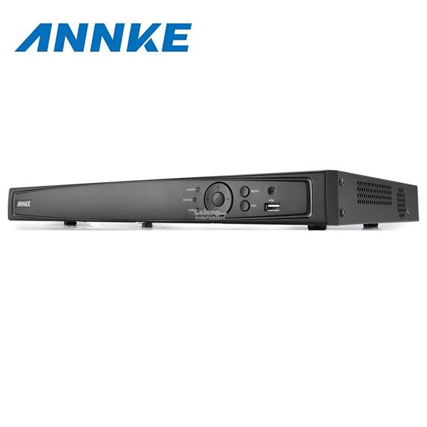 ANNKE 8CH HD 6MP POE NVR Advanced H.264 Video Compression with 2TB HDD