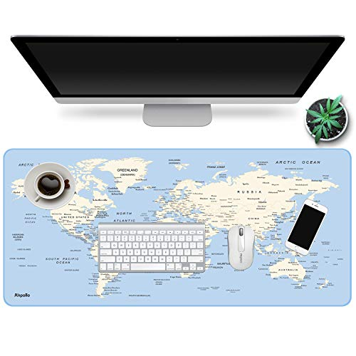 ~ Anpollo Extended Gaming Mouse Pad Large Size 35.4x15.7x0.12inches Anti-Fray