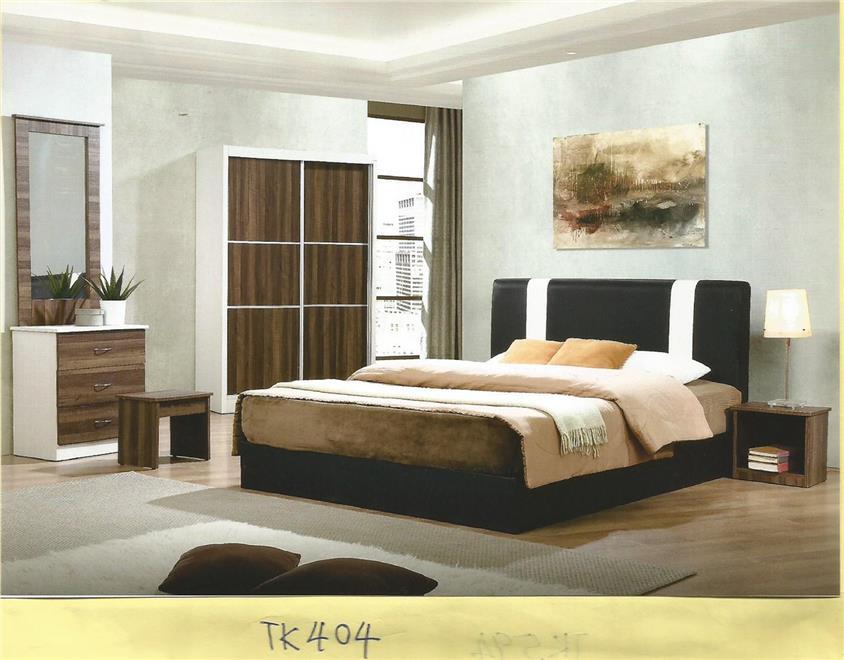 Ansuran Bulanan Murah Set Bilik Tidur 5 Dalam 1 Model Tk404