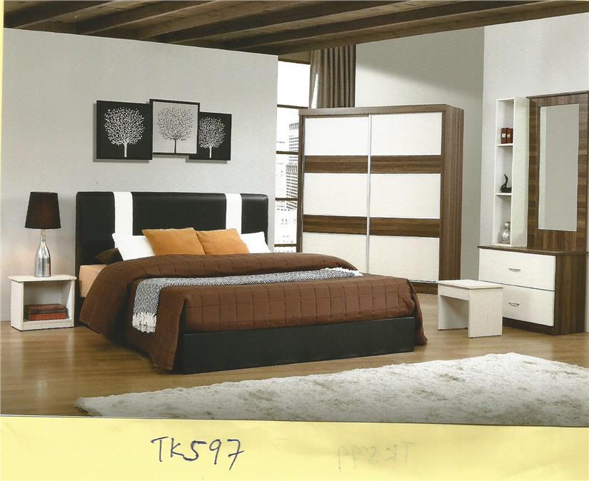 Ansuran Bulanan Murah Set Bilik Tidur 5 Dalam 1 Model Tk597