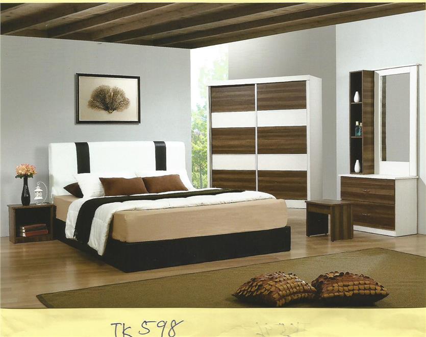 Ansuran Bulanan Murah Set Bilik Tidur 5 Dalam 1 Model Tk598
