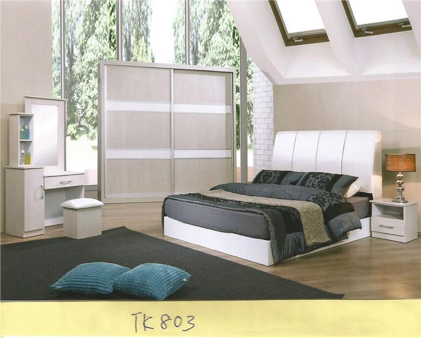 Ansuran Bulanan Murah Set Bilik Tidur 5 Dalam 1 Model Tk803