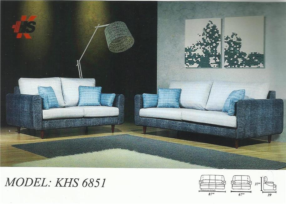 ANSURAN BULANAN SOFA 1+2+3 MODEL KHS 6851