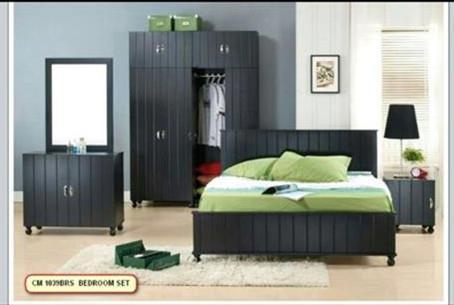 Ansuran Murah Mudah Set Bilik Tidur 5 Dalam 1 Model 1039